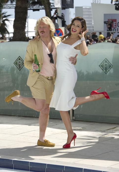 Leigh Francis e Kelly Brook