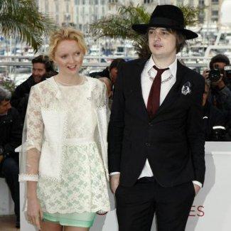 Lily Cole e Pete Doherty
