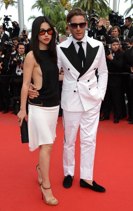Lapo Elkann e Zhu Zhu in Gucci