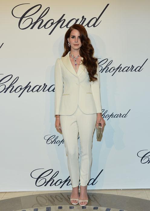Lana Del Rey in Moschino