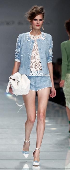 Completo jeans Ermanno Scervino