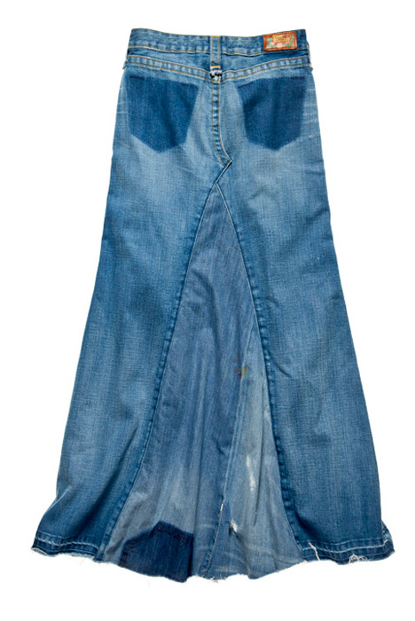 Maxi gonna jeans True Religion