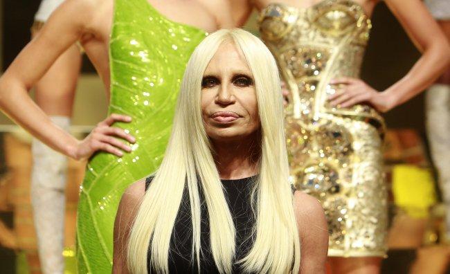 Donatella Versace sfilata 2012