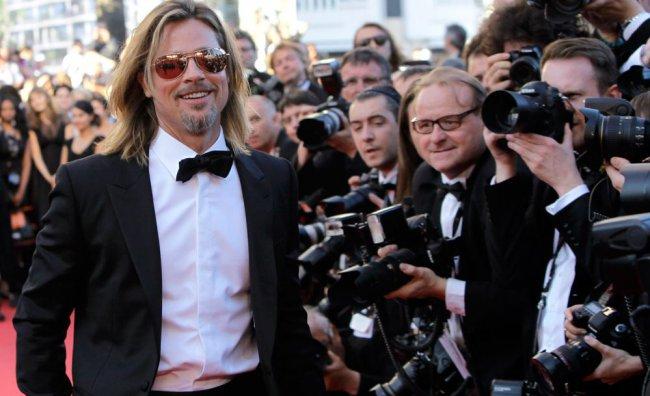Festival di Cannes 2012 - Brad Pitt
