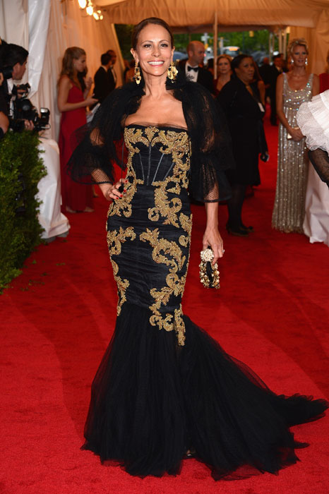 Andrea Dellal in Dolce&Gabbana al MET Gala 2012