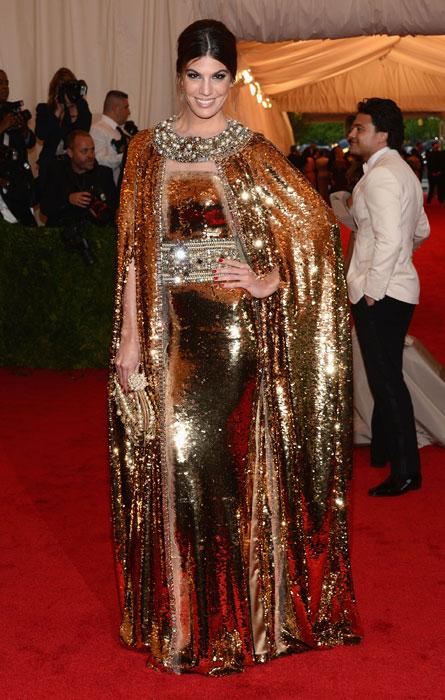 Bianca Brandolini D'Adda in Dolce&Gabbana al MET Gala 2012