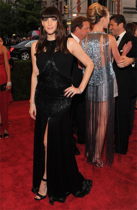 Liv Tyler in Givenchy al MET Gala 2012
