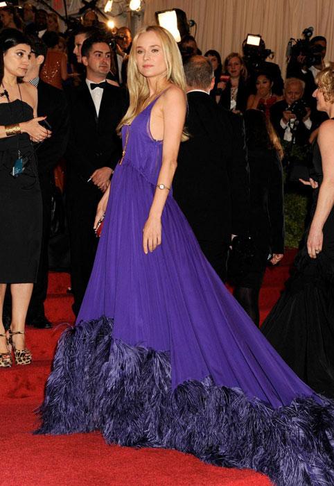 Diane Kruger in Prada al MET Gala 2012
