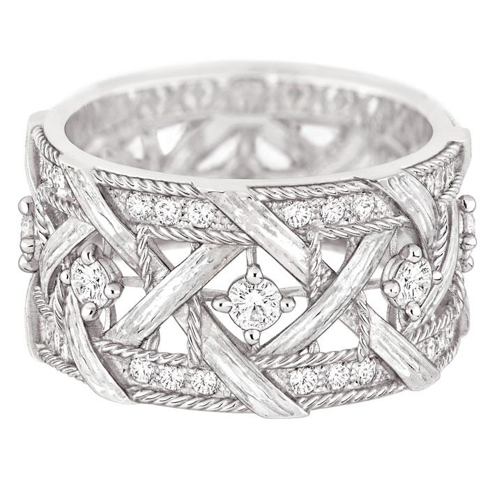Bracciale in oro bianco My Dior, diamanti