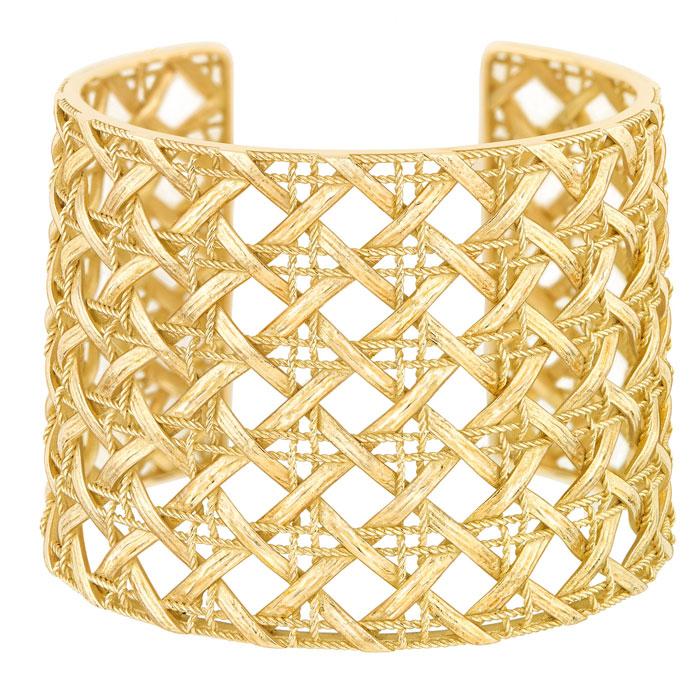 Manchette oro giallo 750/1000 My Dior