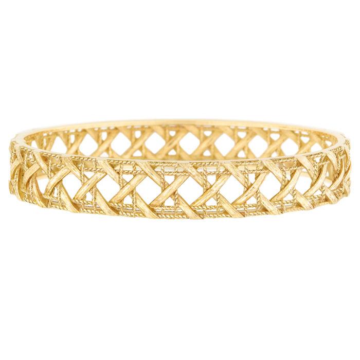 Bracciale in oro giallo 750/1000 My Dior