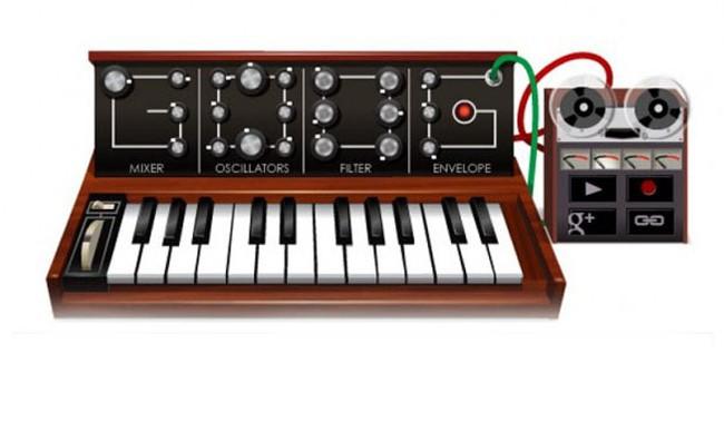 Google omaggia Robert Moog, pioniere della musica elettronica