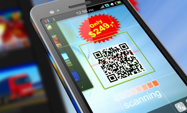 Smartphone codice QR