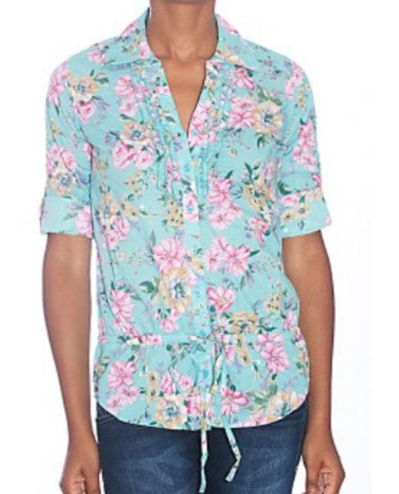 Camicia a fiori Terranova