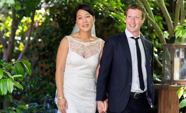 Mark Zuckerberg (Facebook) - Priscilla Chan