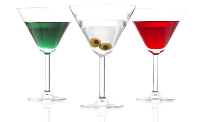 Cocktail di tre colori