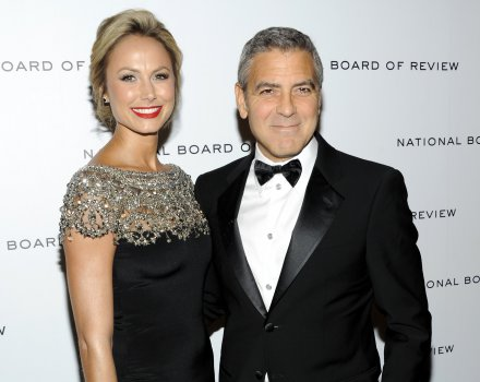 George Clooney e Stacy Keibler