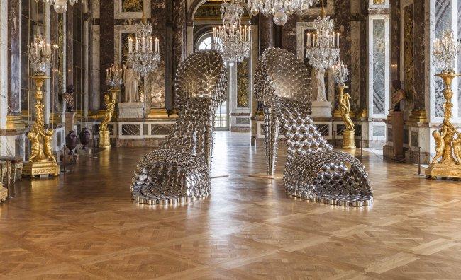 Joana Vasconcelos regina di Versailles