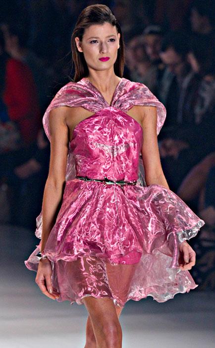 Iodice - abito rosa