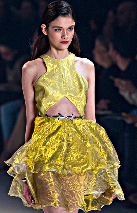 Iodice - abito giallo