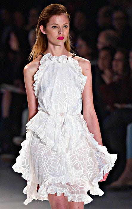 Iodice - abito bianco