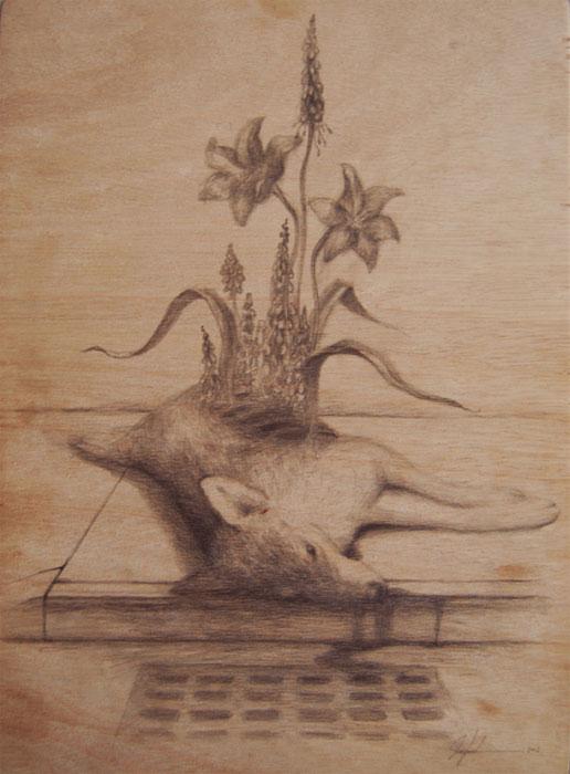 Red Soil  - Martin Wittfooth