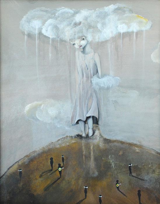 Atomic Dream In A Blind World - Ixie Darkonn