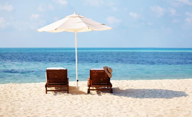 In spiaggia col design