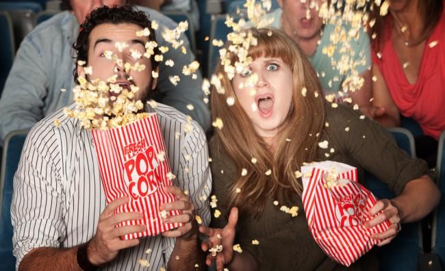 Grande Mela proibita, messi al bando anche i popcorn