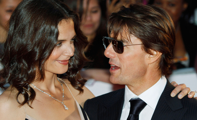 Tom Cruise e Katie Holmes, la fine di un amore