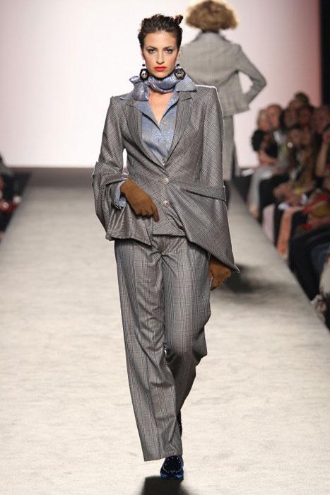 Raffaella Curiel - foulard grigio