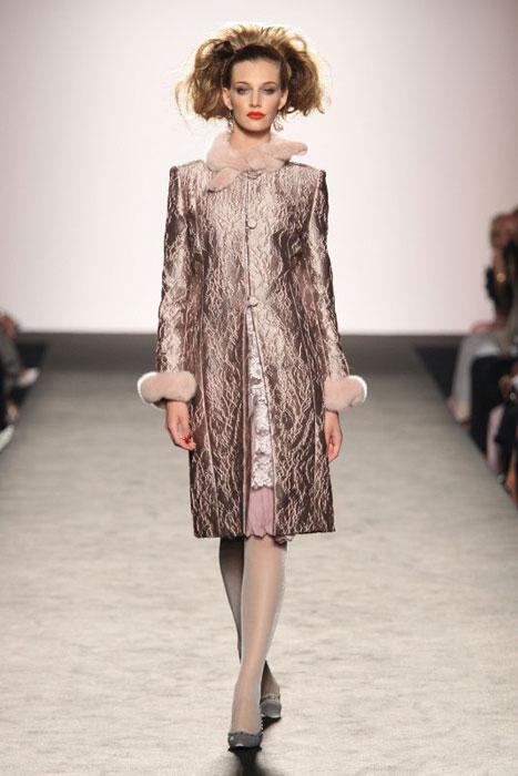 Raffaella Curiel - cappotto con pelliccia