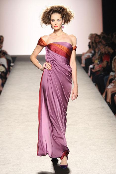 Raffaella Curiel - vestito lilla