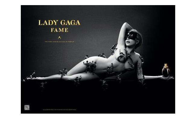Lady Gaga nuda per la pubblicità di 'Fame'