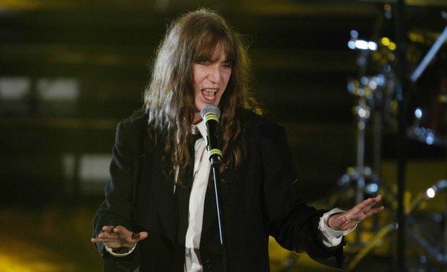 Patti Smith porta il rock nella Capitale