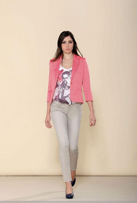 Jeans e giacca Artigli