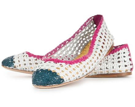 Ballerine, le scarpe per l'estate 2012