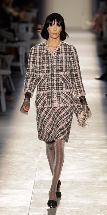 Tailleur a quadri Chanel Haute Couture