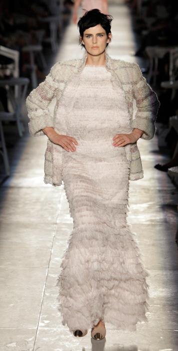 Abito lungo Chanel Haute Couture