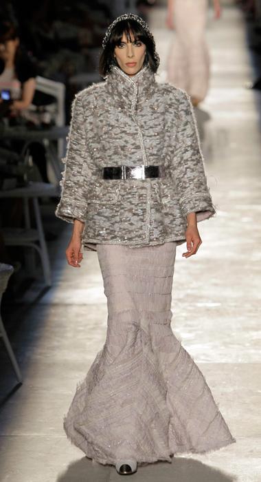 Gonna a sirena Chanel Haute Couture