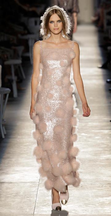 Abito pon pon Chanel Haute Couture