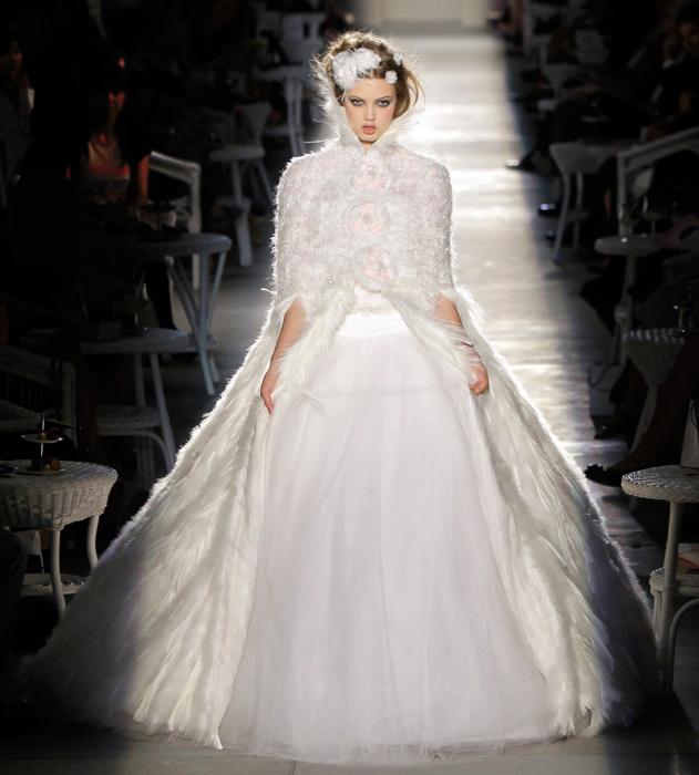 Abito da sposa Chanel Haute Couture