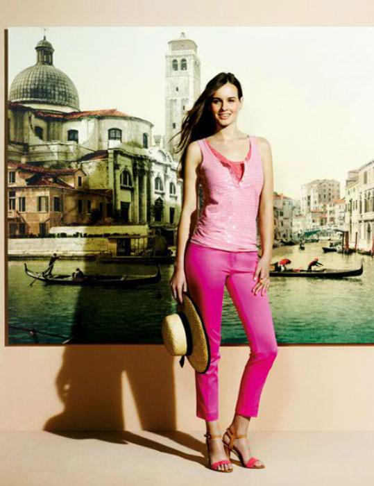 Pantaloni rosa Conbipel