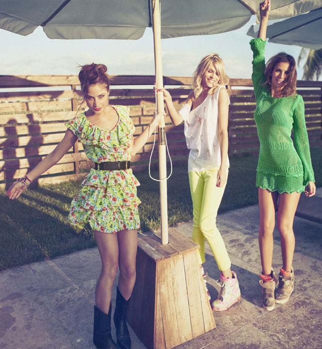 Tre outfits Denny Rose