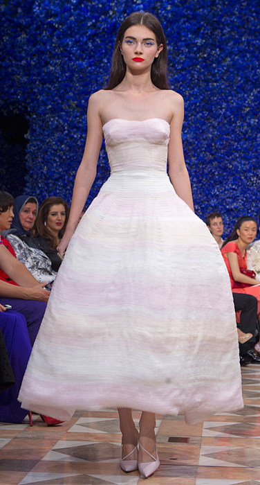 Abito nuance pastello Dior