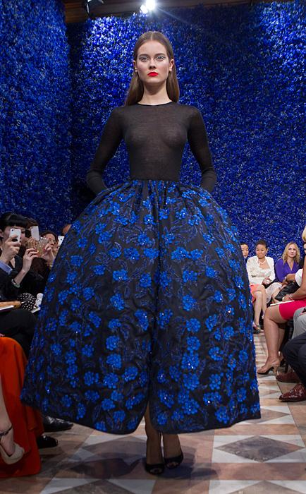 Gonna a corolla Dior