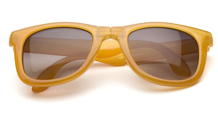 Occhiali da sole in giallo Mango