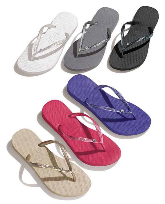 Havaianas Special Collection 2012 Slim Crystal Glamour SW