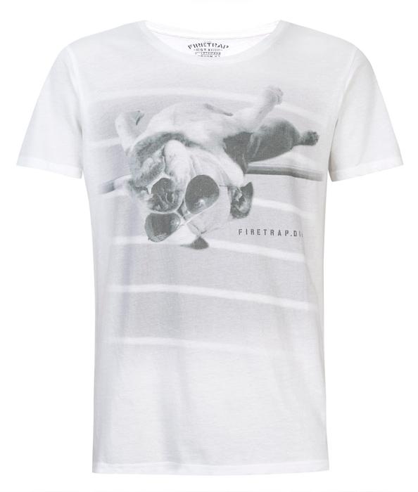 T-shirt Furetrap Bulldog salto con l'asta