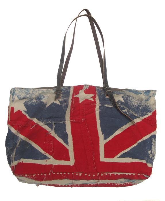 Shopper Pois bandiera inglese